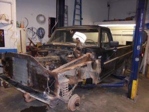 1967 Ford F100 Custom Restoration