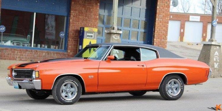 Custom classic muscle car & hot rod restoration