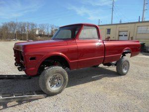 1969 Chevrolet Pickup Custom Restoration
